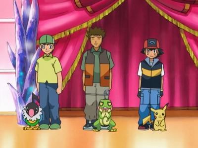 Pokémon Dress-Up Contest Top 3