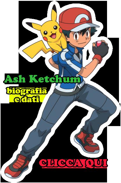 Pulsante biografia Ash